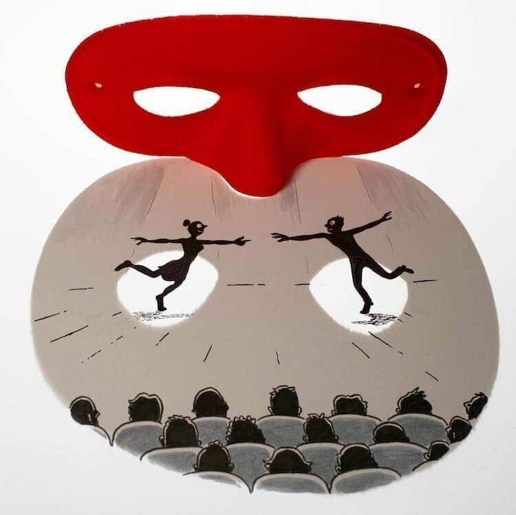 Театр теней бельгийского художника Винсента Баля