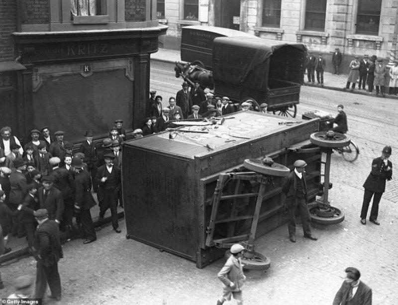 Авария, ок. 1930 г.