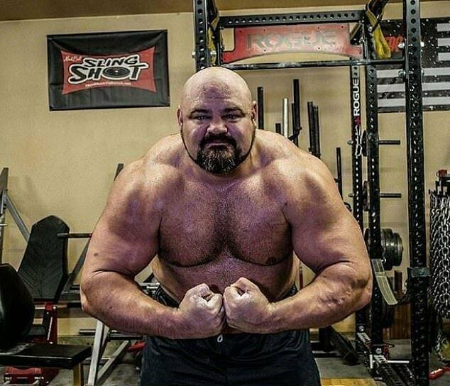 Брайан Шоу говорит, что не уверен насчет своего веса, потому что в последний раз весы отказались работать, когда он на них встал