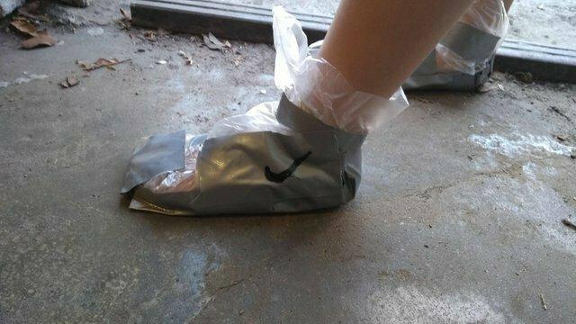 Чтобы не промочить не подходящую для погоды обувь