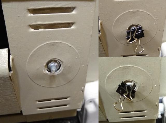 Использовать зажим в качестве временной ручки переключателя