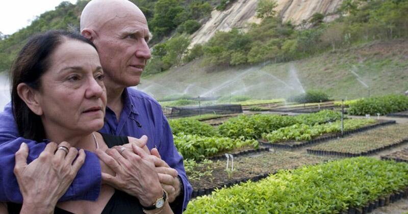 Бразильский фотограф Себастьян Сальгадо и его жена Лелия Делюис Ваник бразилия, восстановление, истории, лес, природа, пустошь, сальгадо, фотограф