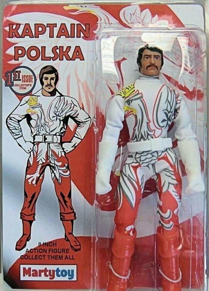 Капитан Польска: ещё больше орлов и шикарные усы