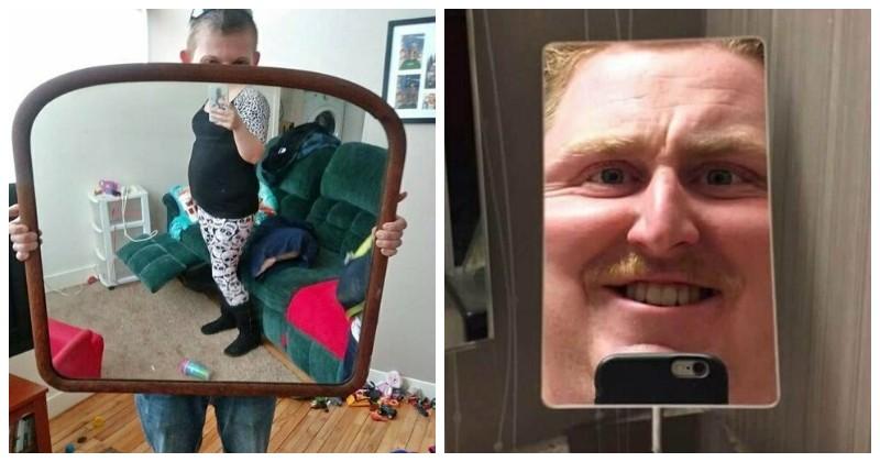 Неловкие попытки продажи зеркал особо одаренными людьми
