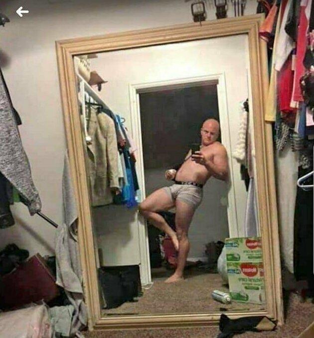 Он точно только зеркало продает?