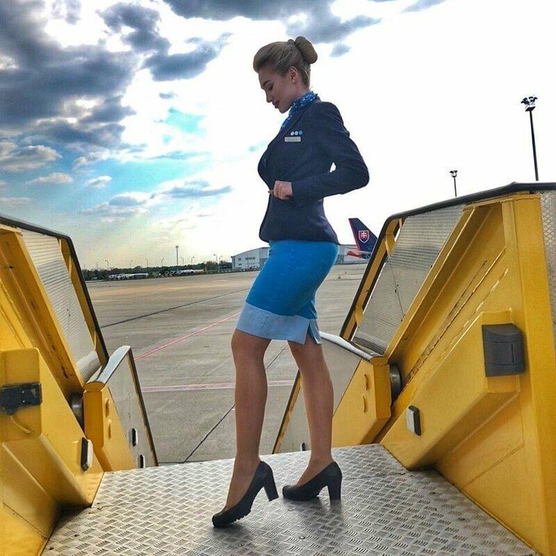 Любой перелет с этими очаровательными стюардессами превратится в незабываемое путешествие авиаперелеты, девушки, красиво, полеты, самолет, стюардесса, стюарт, фото