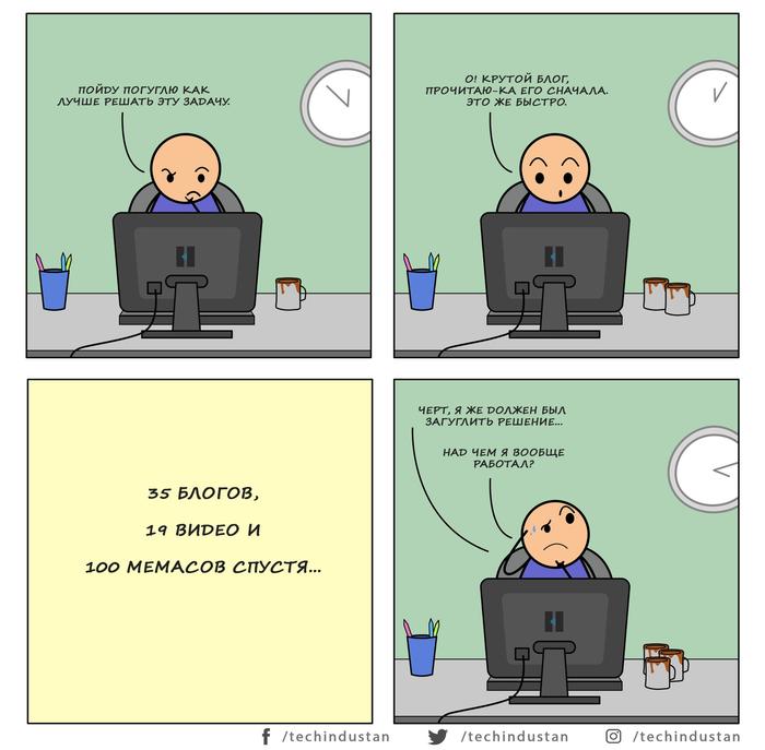 Типичные будни программиста