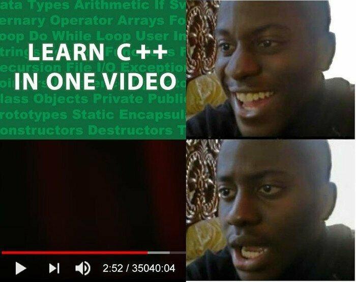 Изучаем C++ в одном видео