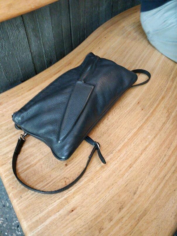Главное - не ездить с этой сумочкой в аэропорт