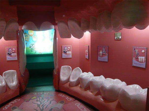 Приемная стоматолога. Бр-р-р!