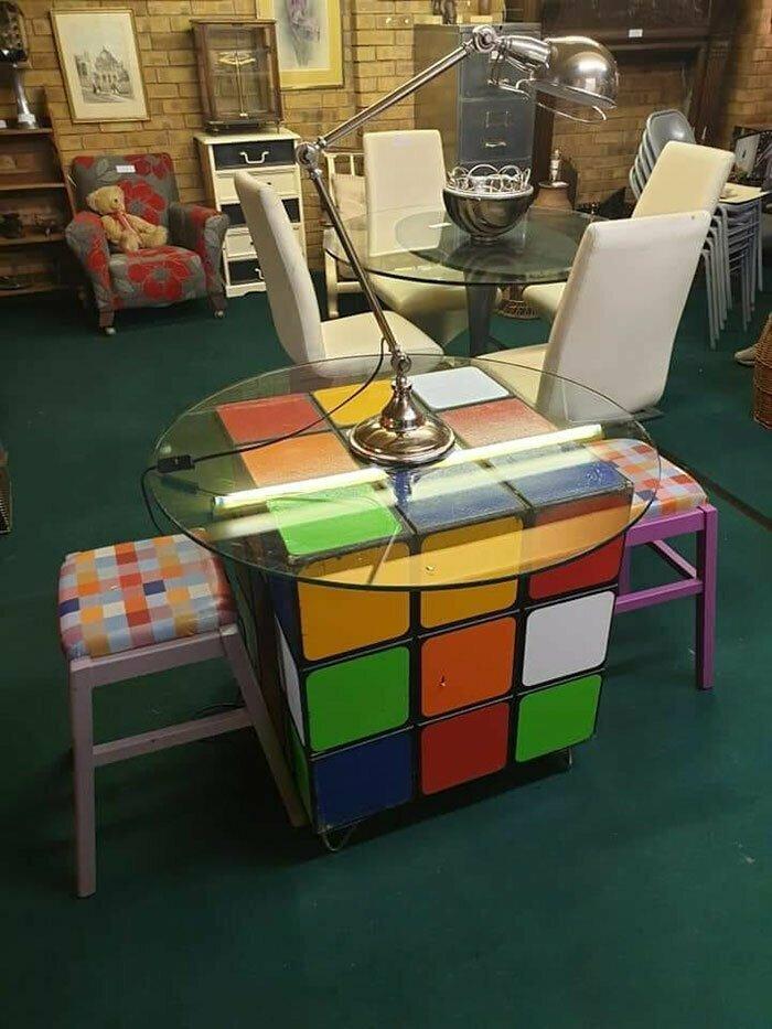Для тех, кто еще помнит, что такое кубик Рубика