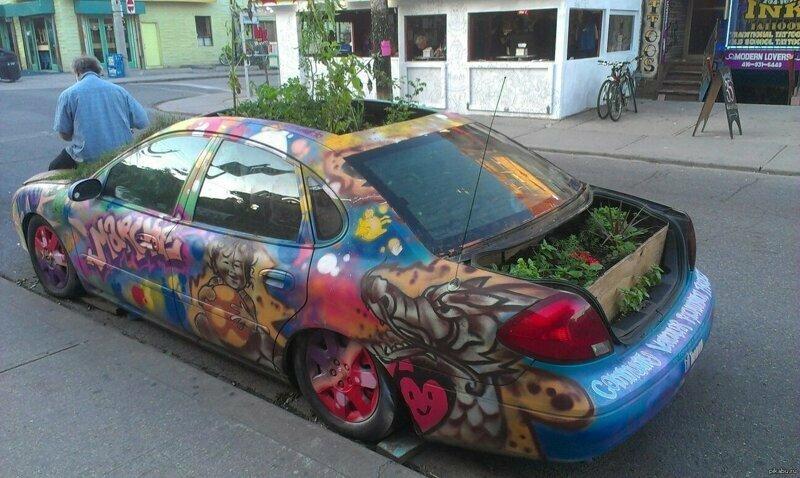 Автомобиль дачника дача, огород, подборка, прикол, прополка, сад, юмор