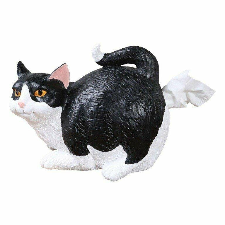 Подставка для салфеток в виде кошки с поднятым хвостом