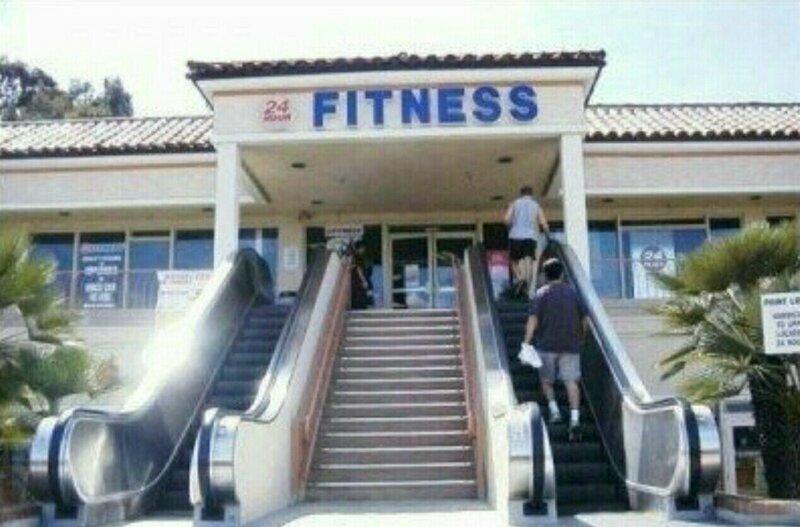 А вы точно пришли заниматься фитнесом?