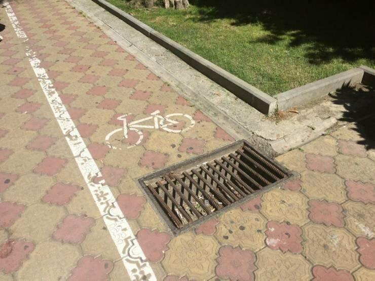 Прекрасная велодорожка