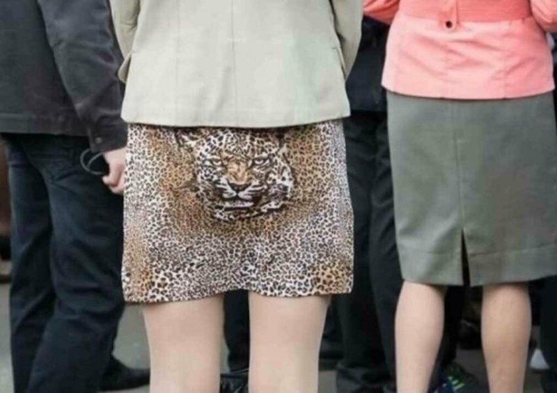Хищник всегда бдит дизайн, мода, модники, одежда, смешно, странные вещи, юмор