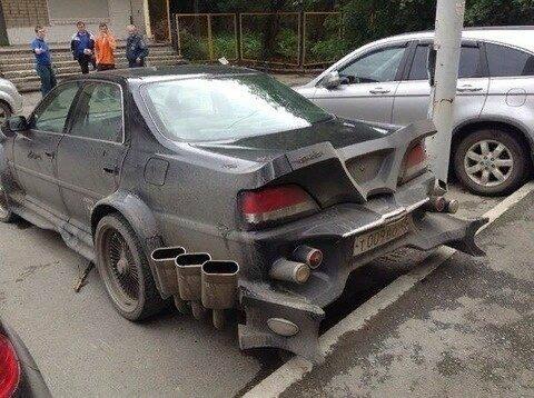 Машина для супергероя автомеханик, автомир, автомобили, автослесарь, автоюмор, кулибины, мастера, сто, юмор