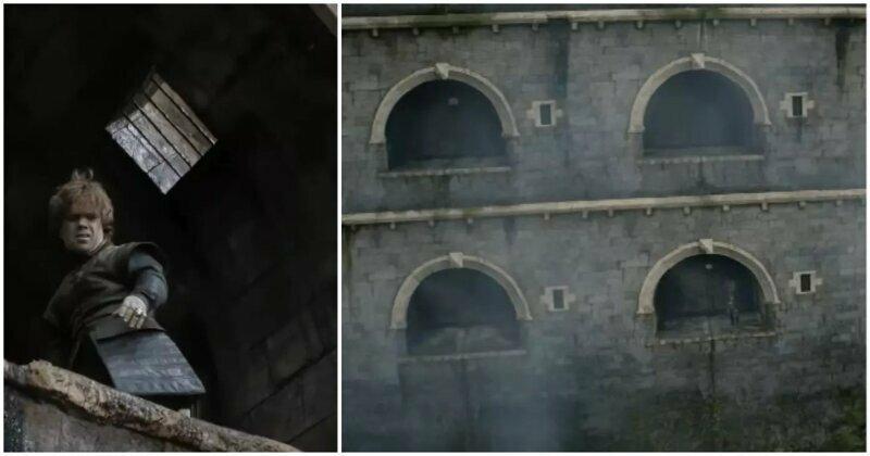 Откуда у Тириона дневной свет в потолке небесной камеры? игра престолов, кино, киноляпы, сериал, спойлеры, фанаты