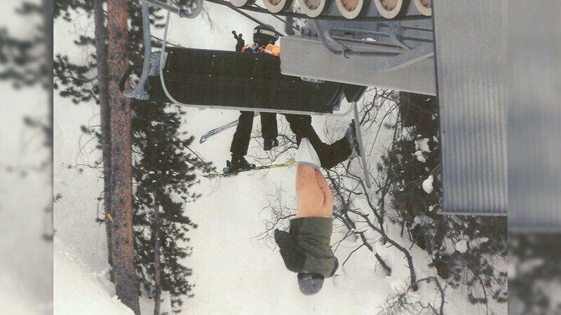 Правило 3: не прыгайте с подъёмника