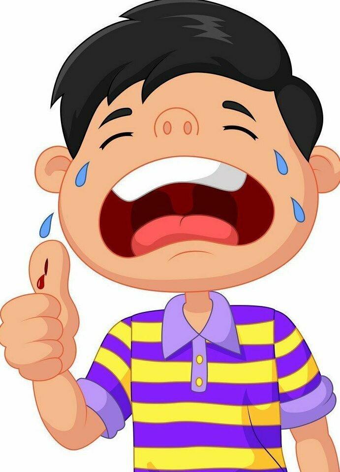 Если ребенок легко ушибся или поцарапался, сделайте вид, что этого не заметили. Это единственный способ избежать слез: без публики он не будет их лить, а забудет о случившемся через секунду
