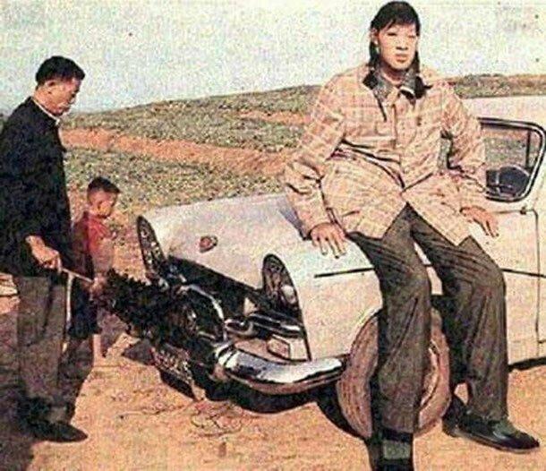 Цзэн Цзиньлянь - 248 см