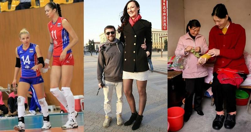 Список самых высоких женщин когда-либо живших на земле