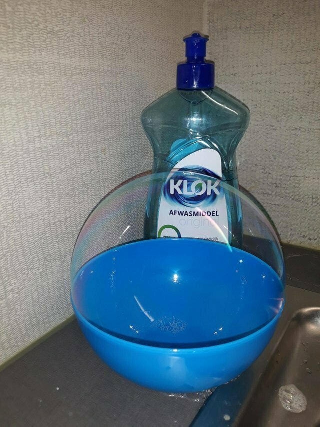 """""""Я мыл посуду и увидел пузырь"""""""