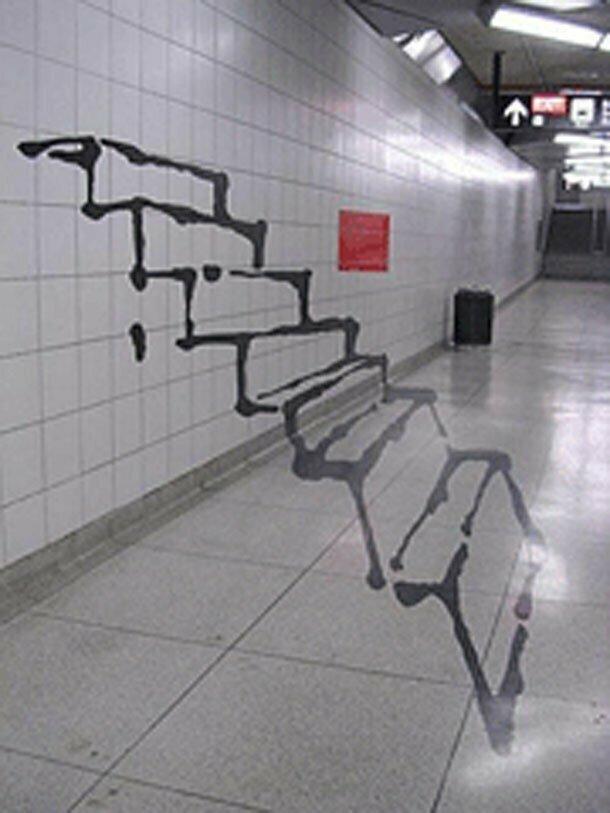 Плавающая лестница