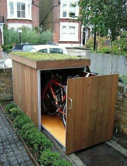 Идея хранения велосипедов