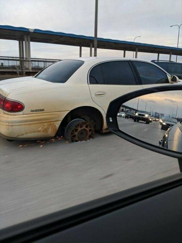 Не повезло автомобильное, водители, водители ада, дорожное, на дороге, необычные автомобили, странные автомобили, юмор