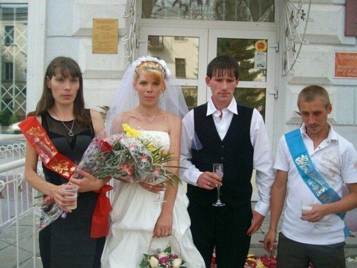 Самая веселая пара на свете деревня, жених, невеста, прикол, свадьба, село, смех, юмор