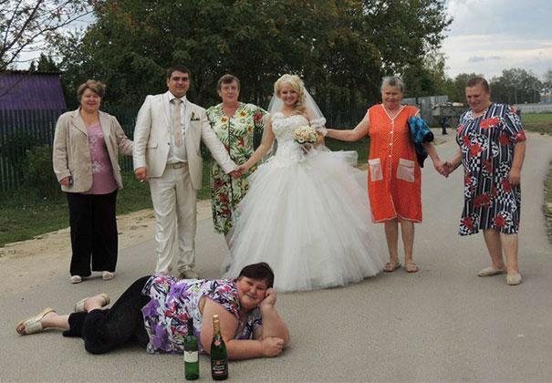 Когда-то и я была молодой деревня, жених, невеста, прикол, свадьба, село, смех, юмор