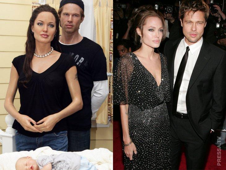 Кто это рядом с Джоли?