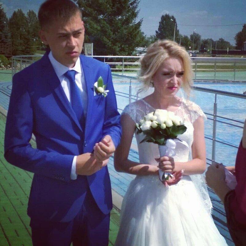 Когда сфотографировал свадьбу друга кривыми руками, ракурс решает, сделай мне красиво, смешно, фото, юмор