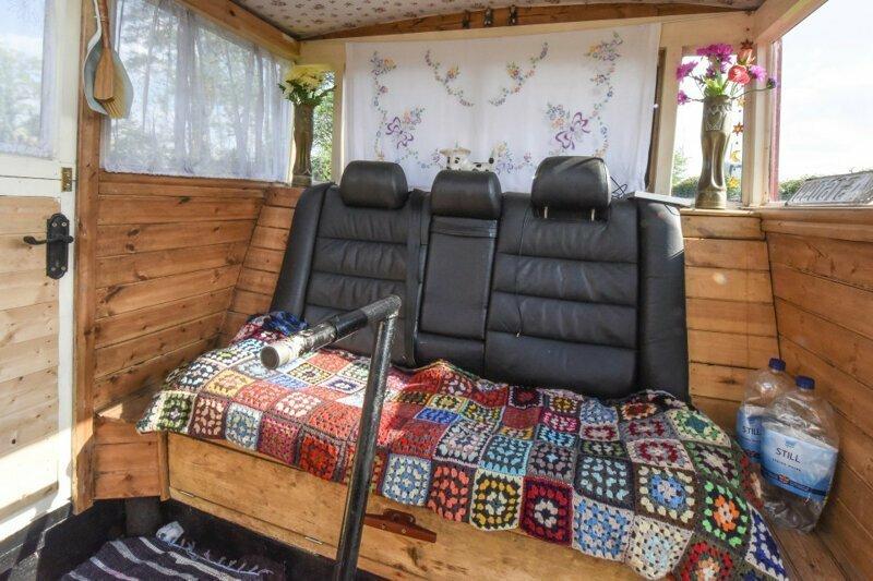 Те самые кресла от Audi для пущего комфорта