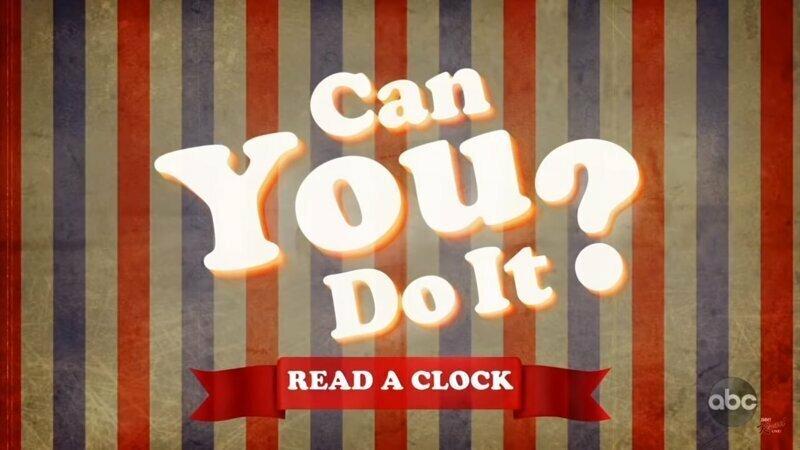 Джимми Киммел решил узнать у американцев, умеют ли они определять время по классическим часам