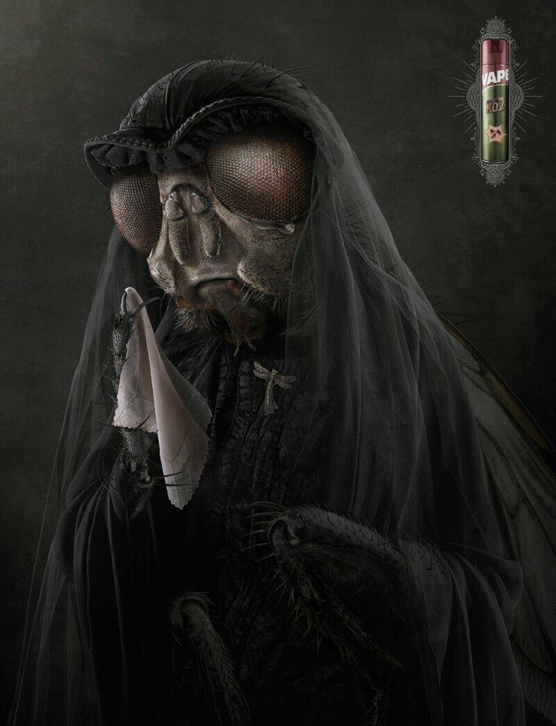 Вдова (реклама средства от насекомых)