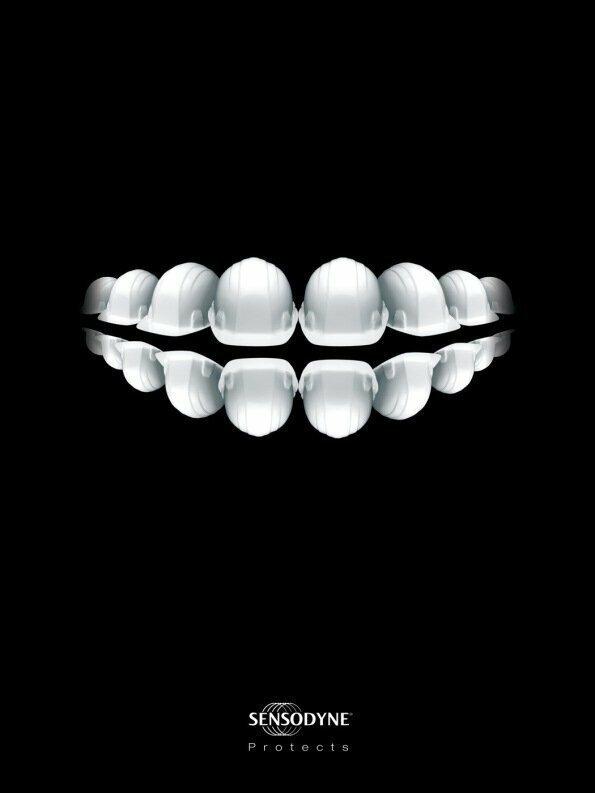 Защита для ваших зубов гениально. реклама, креатив, неповторимо, фабрика идей, фантазия