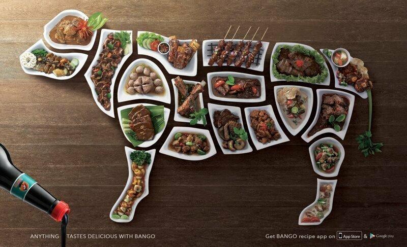 Реклама соуса гениально. реклама, креатив, неповторимо, фабрика идей, фантазия