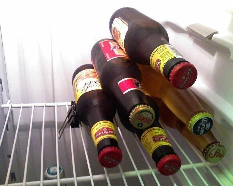 Упорядочит продуты в холодильнике