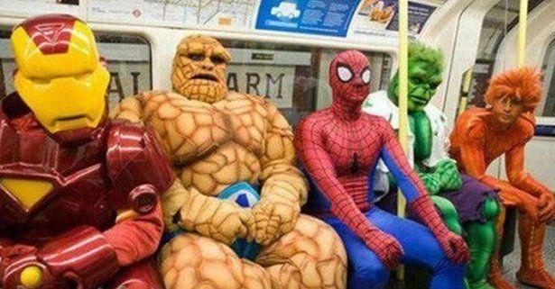Кто твой сосед в метро?