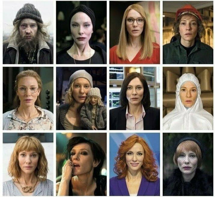 Рекорд актёры, в одном фильме, джонни депп, кино, назад в будущее, несколько ролей, том хэнкс