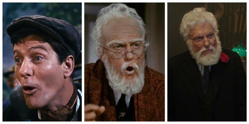 Дик Ван Дайк актёры, в одном фильме, джонни депп, кино, назад в будущее, несколько ролей, том хэнкс