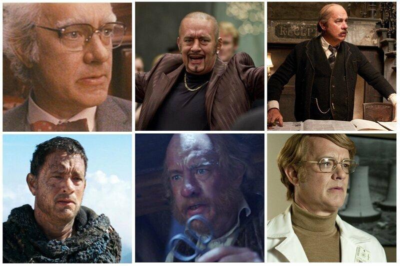 Том Хэнкс актёры, в одном фильме, джонни депп, кино, назад в будущее, несколько ролей, том хэнкс