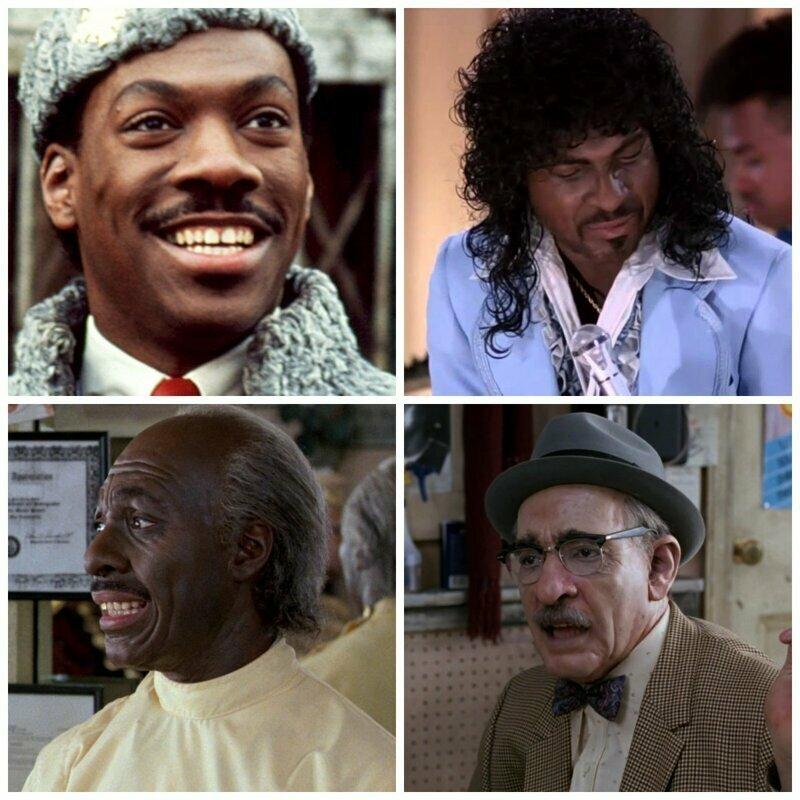 Эдди Мёрфи актёры, в одном фильме, джонни депп, кино, назад в будущее, несколько ролей, том хэнкс