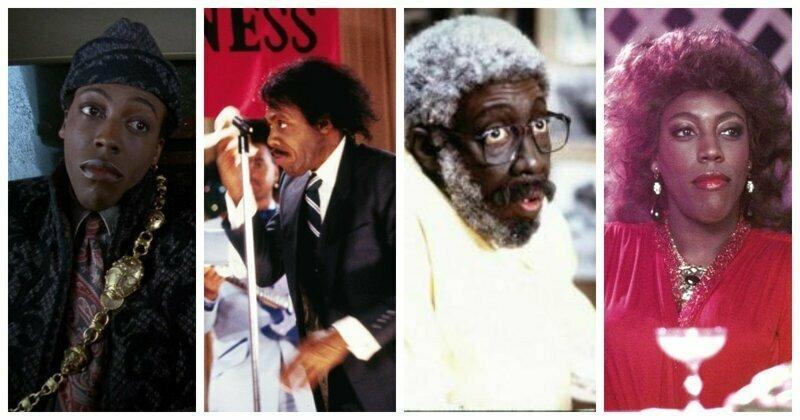 Арсенио Холл актёры, в одном фильме, джонни депп, кино, назад в будущее, несколько ролей, том хэнкс