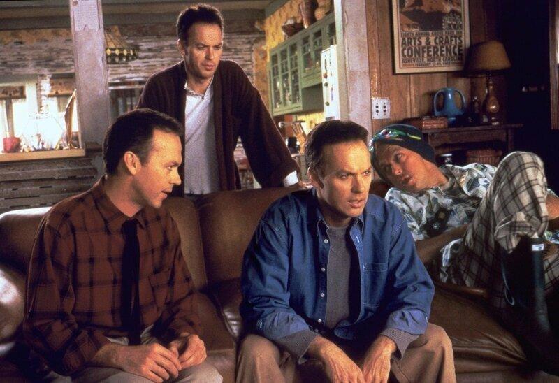 Майкл Китон актёры, в одном фильме, джонни депп, кино, назад в будущее, несколько ролей, том хэнкс