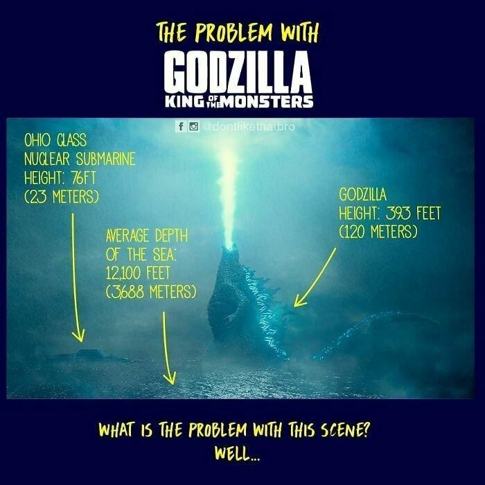 В поисках логических объяснений одного из нелепых кадров новой Годзиллы