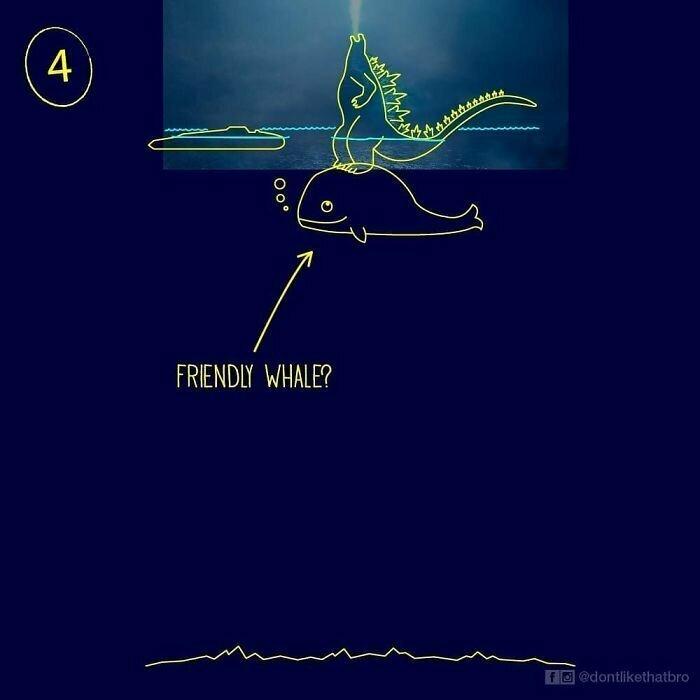 Дружелюбный кит?