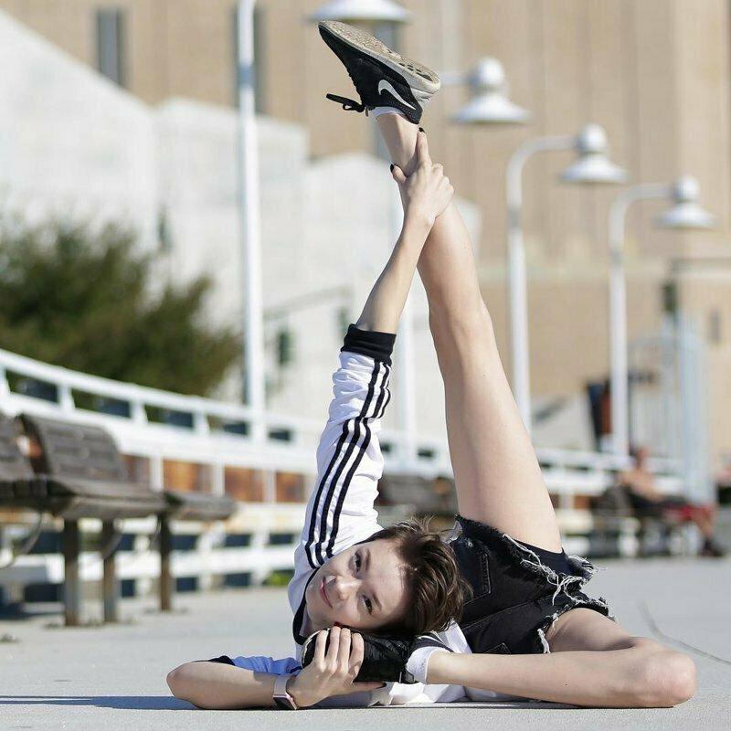 Мария Пуччарелли — супергибкая конторсионистка, который тренировалась тысячи часов ради воплощения мечты. гибкость. гимнастки, женщина-каучук, интересное, надо же такое